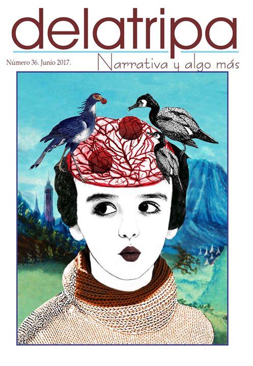 Portada y portafolio Margarita García Alonso, revista DELATRIPA, México, junio2017